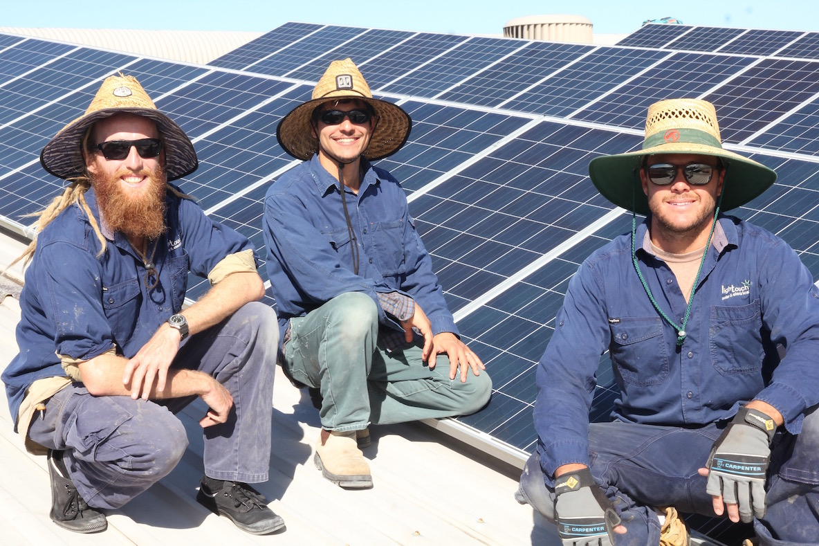 Our Solar Installation Team