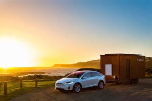 Tesla Tiny House Tesla Model X