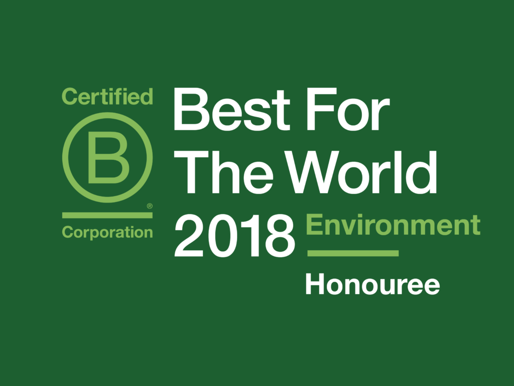 BCorp - Honouree